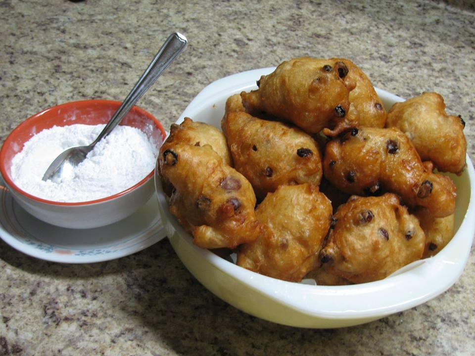 Portzelky (New Year's Cookies)