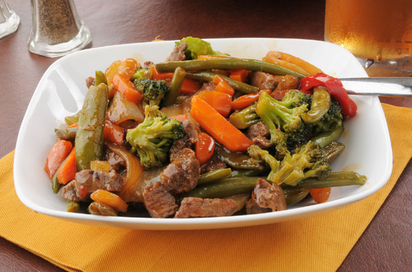 Wendy's Ginger Beef Stir-Fry