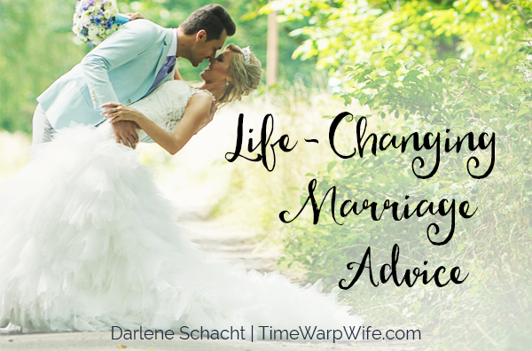 Life changing marriage advise