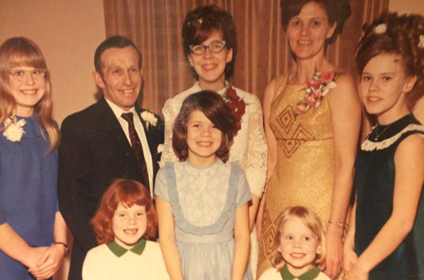 Circa 1969. I'm the little blonde one in front.