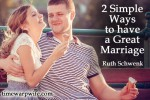 What's for Dinner? {Two Simple Ways to Have a Great Marriage}