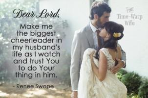 I'm Afraid to Follow My Husband's Lead & Winners Announced!