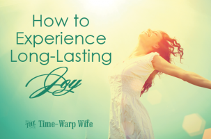 How to Experience Long-Lasting Joy