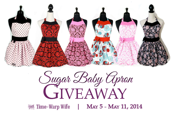 Sugar Baby Apron Giveaway and a Titus 2sDay Link-Up Party!