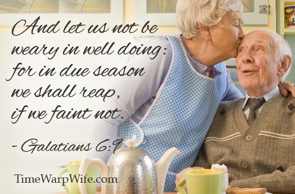 Let Us Not Grow Weary in Well Doing