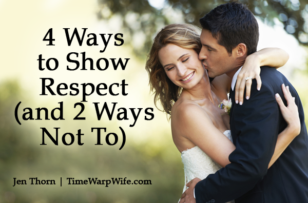 4 Ways to Show Respect
