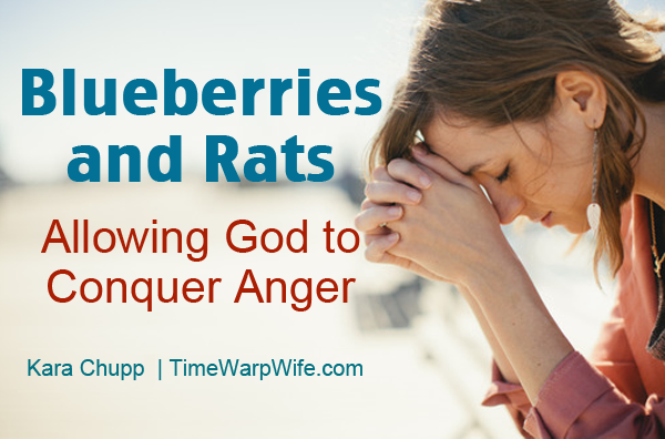 Allowing God to Conquer Anger