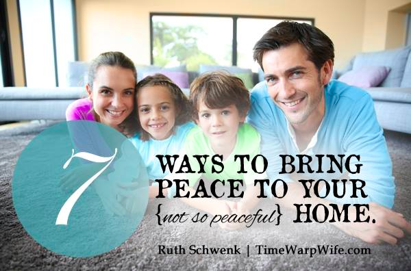 7 Ways to Bring Peace to Your Home