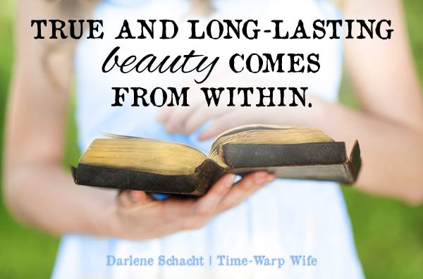 True and Long-Lasting Beauty Comes From Within