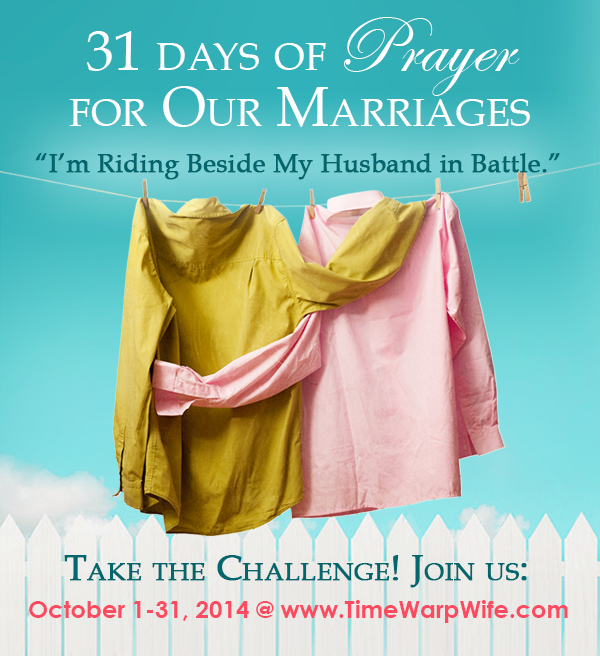 Marriage Challenge – 31 Days of Prayer (Introduction)