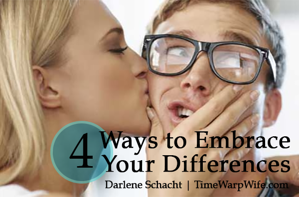 4 Ways to Embrace Differences With Your Spouse