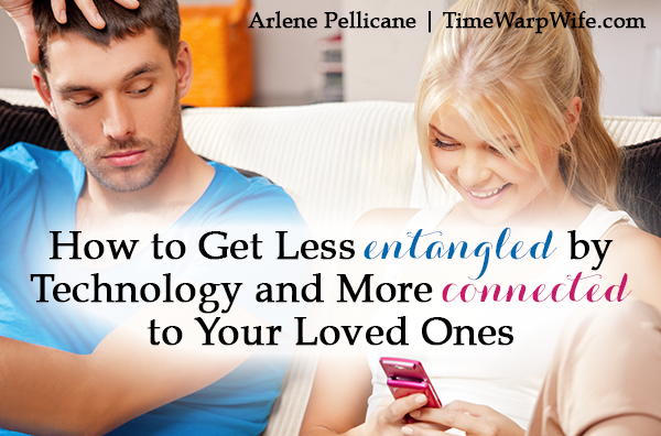 Get Less Entangled by Technology