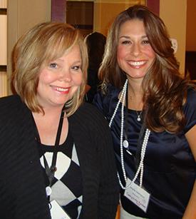 Janelle Nehrenz and Darlene Schacht