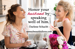 Speak Well of Your Husband & a Titus 2sDay Link-Up Party
