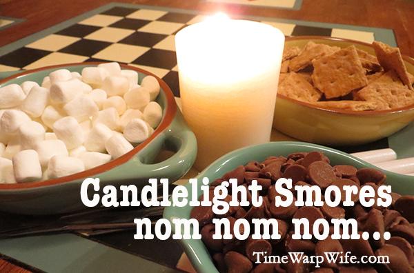 Candlelight Smores, nom nom nom…