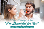 "Day 1 – ""I'm Thankful For You."" Marriage Challenge"