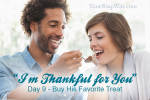 """Day 9 – """"I'm Thankful For You"""" Marriage Challenge"""