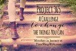 Project 365 – A Challenge to Change the Things You Can