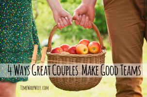4 Ways Great Couples Make Good Teams