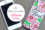 Easy DIY Tutorial – Custom iPhone Cover