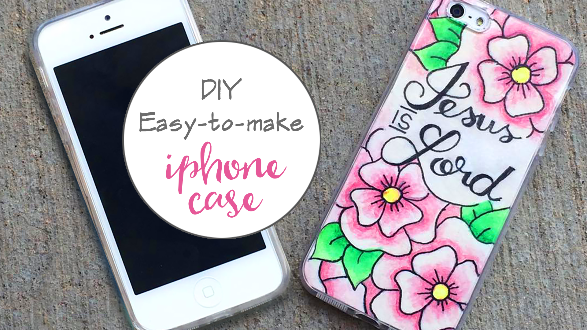 Easy DIY Tutorial – Custom iPhone Cover