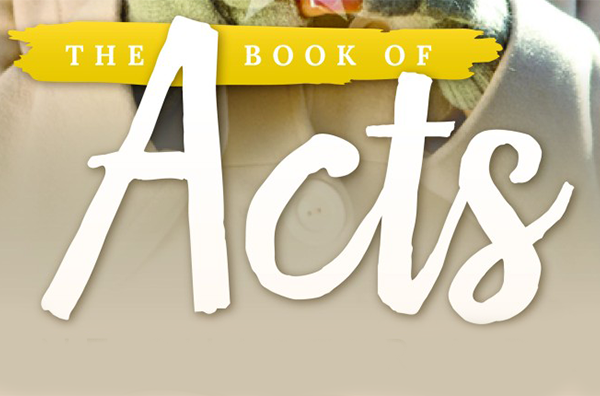 Two Awesome Ways to Study The Book of Acts!