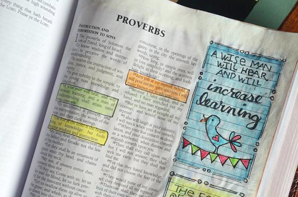 Praying Through Proverbs Chapter 1