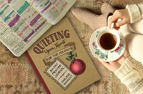 Quieting Your Heart for the Holidays - A 30-day prayer journal designed to draw you closer to God through the holiday season