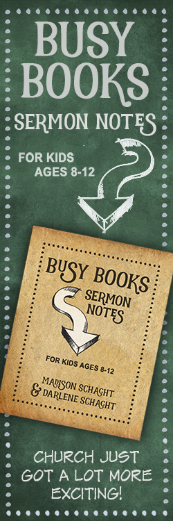Busy Books - Sermon Notes for Kids