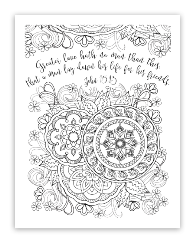 freee downloadable christian coloring pages - photo#21