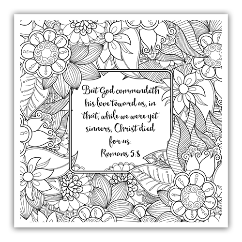 adult bible coloring pages Free Christian Coloring Pages for Adults   Roundup   JoDitt Designs adult bible coloring pages