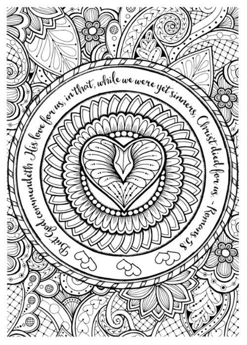 free bible journaling coloring pages Free Christian Coloring Pages for Adults   Roundup   JoDitt Designs free bible journaling coloring pages