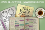 4 Faith-Filled Weeks – 1 Awesome Bible Study!