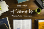 """A Virtuous Life"" Bible Study – Week 2 – Recap"