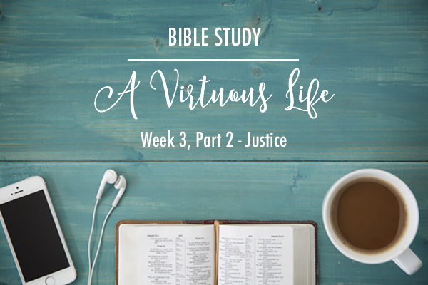 """A Virtuous Life"" Bible Study – Week 3 – Recap"