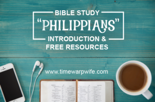 "Bible Study – ""Philippians"" – Introduction & FREE Resources"