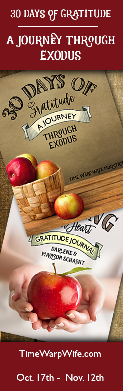 30 Days of Gratitude: A Journey Through Exodus - FREE Bible Study