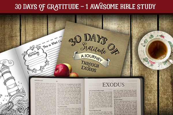30 Days of Gratitude: A Journey Through Exodus – FREE Study Guide and Introduction