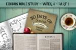 Exodus Bible Study – Week 4 – Part 1