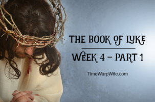 Bible Study – The Book of Luke Week 4 – Part 1