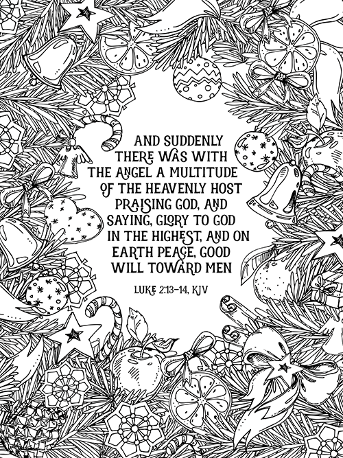 kjv bible verse coloring pages | Bible Study - The Book of Luke Week 4 - Part 1 - Time-Warp ...