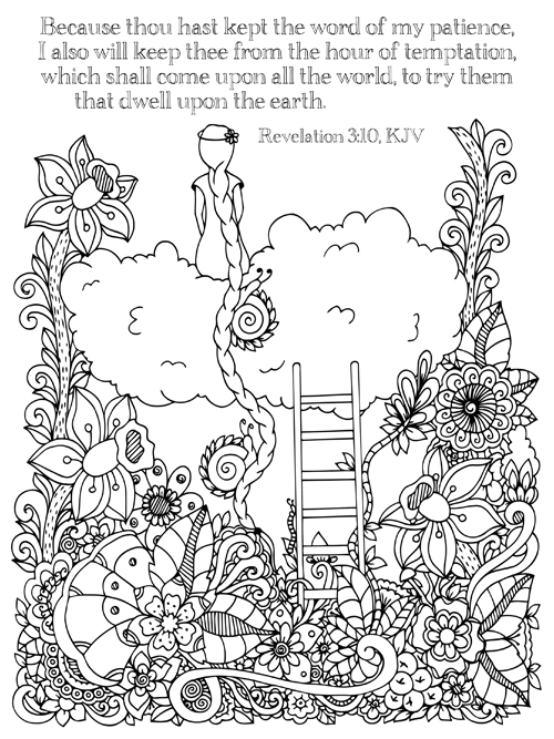 christian february coloring pages - photo#3