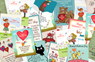 FREE Printable Valentine Cards With Bible Verses