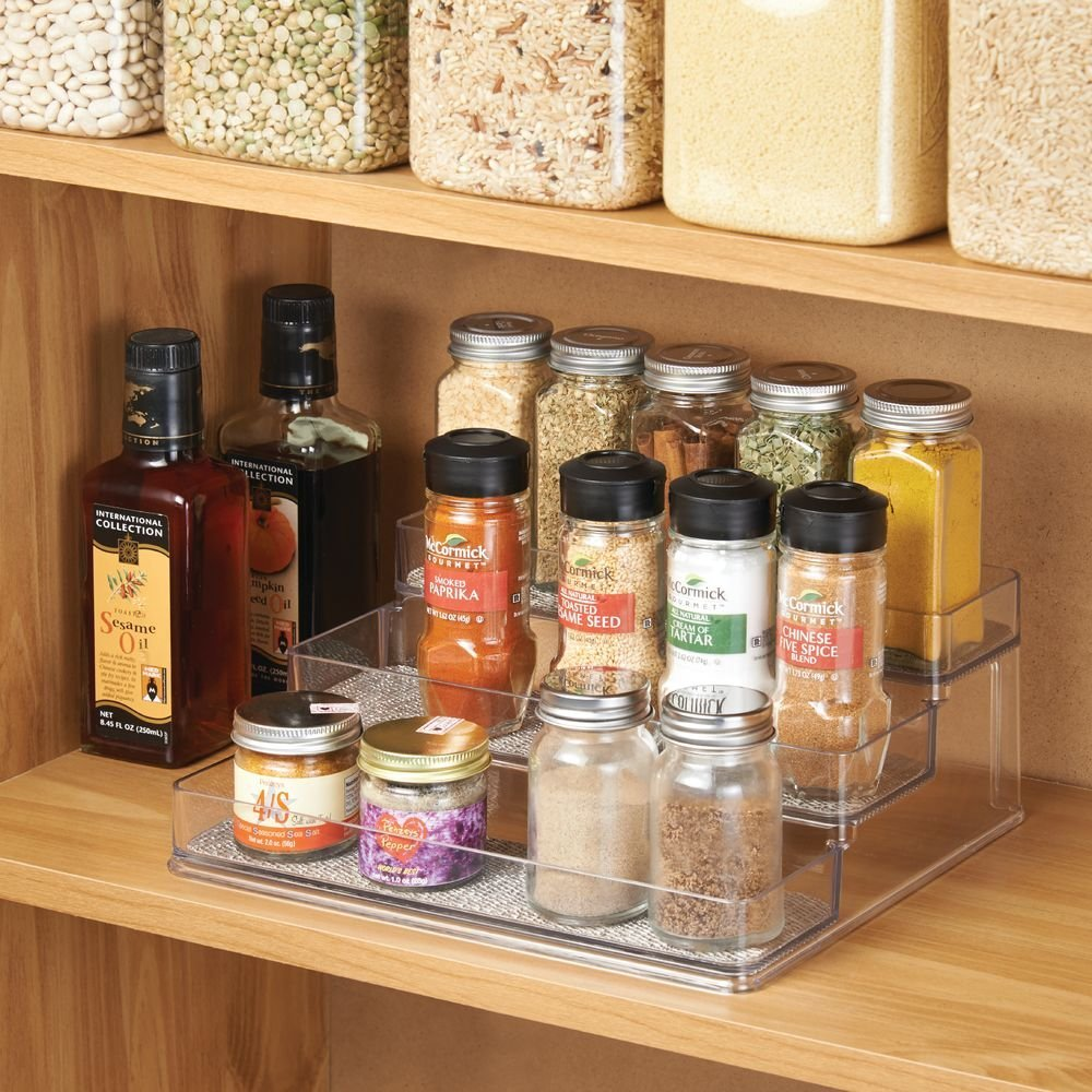 Messy Kitchen Baking: How To Organize Your Spice Shelf And Baking Supplies