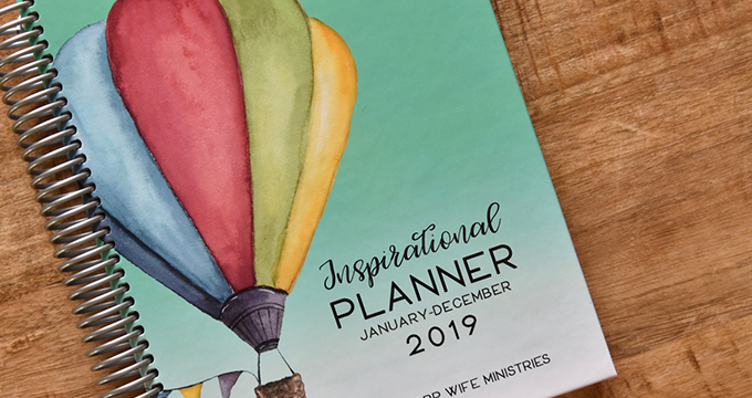 Last Chance to Order the 2019 Planner