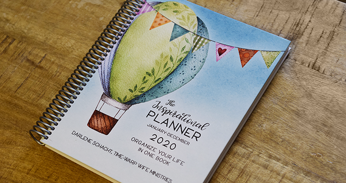 It's Here! It's Here! The 2020 Inspirational Planner