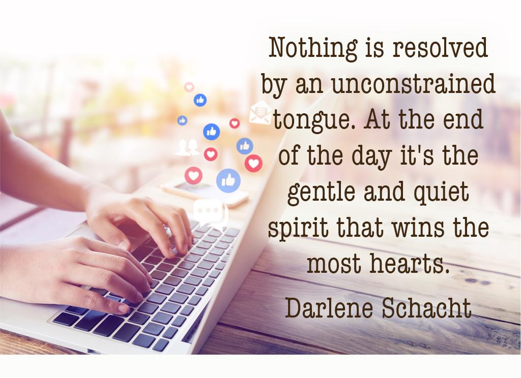 Daily Devotion – Quick to Listen, Slow to Speak