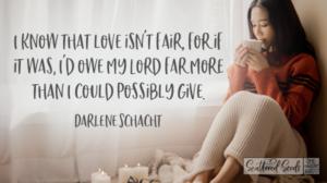 Daily Devotion – Love Isn't Fair