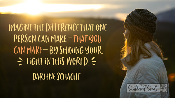 Daily Devotion - The Difference that One Person Can Make