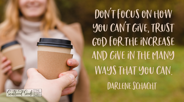 Daily Devotion – Giving in Ways That We Can